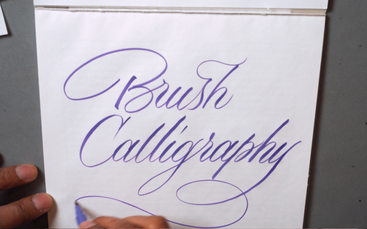 An Introduction to Calligraphy: Brush Copperplate Script